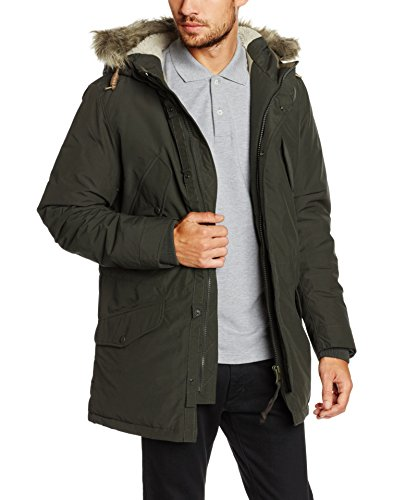 JACK & JONES VINTAGE Herren Jjvarctic Parka Noos, Grün (Rosin Fit:Regular Fit), Medium (Herstellergröße: M)