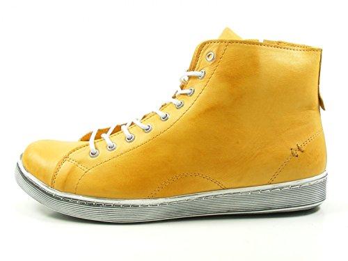 Andrea Conti 0341500 Chaussures à Lacets Femme Gelb
