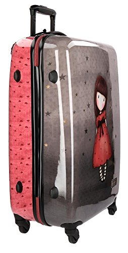 Gorjuss The Black Star Juego de Maletas, 67 cm, 97 Litros, Multicolor