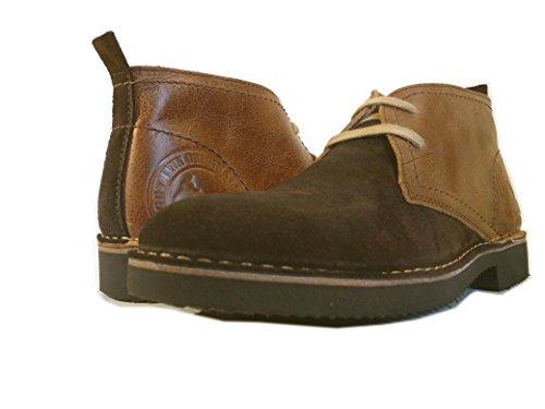 Desert Classic PORTMANN | Boots Antique Brown Oiled Leather | Eva Sole...