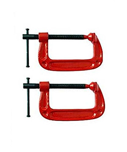 """Pahal Heavy Duty G-Clamp 75MM (3"""") 2PC Pack"""