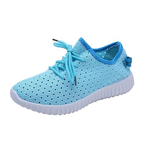 Damen Schuhe,TWBB Outdoor Breathable Sport Laufschuhe Flach Schuh Mesh atmungsaktiv Freizeitschuhe