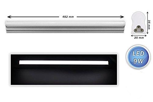 Plafoniere Per Tubi Neon : Vetrineinrete® sottopensile led plafoniera neon tubo 30 40 50 60 90