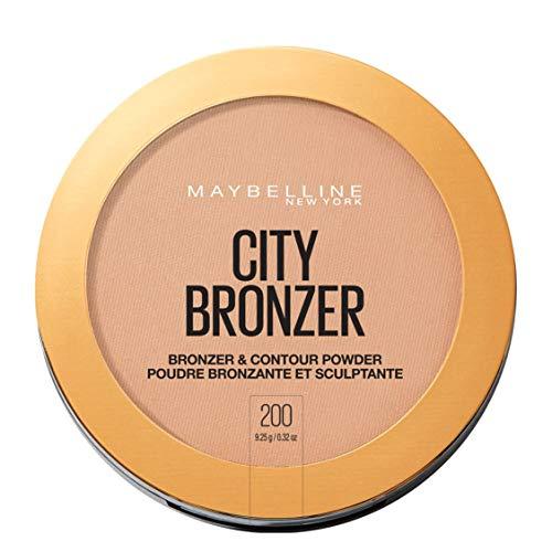 Maybelline New York City Bronze Puder 200 Medium Cool, 1er Pack (1 x 8 g)