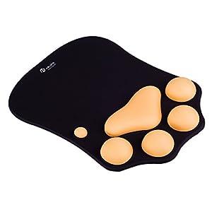 JIALONG Mauspad mit Handgelenkstütze, Mousepad Handgelenkauflage Ergonomisch, Handgelenk Kissen, Computer Mouse Pad Schreibtisch Dekor