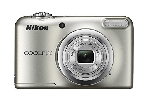 Nikon-Coolpix-A10-Point-and-Shoot-Digital-Camera-Silver-with-8GB-Memory-Card-and-Camera-Case