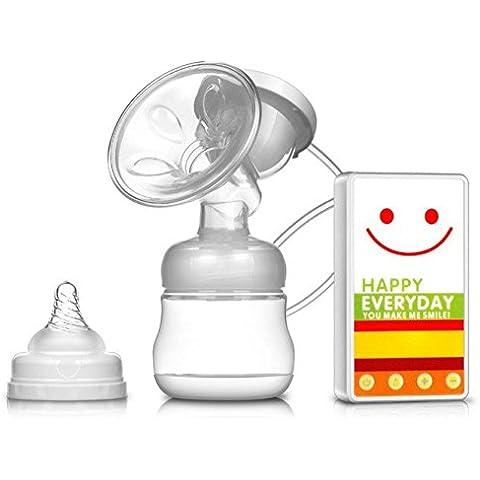DINHAND sacaleches eléctrico ultra silencioso individual La bomba de pecho eléctrica de dibujos animados cómodo ordeño automático de inteligente postparto Extractor de leche