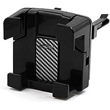 sourcingmap® Soporte ajustable Negro plástico de aire coche montaje salida de la horquilla GPS Smartphone