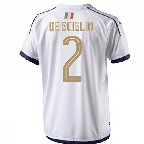 2006 Italy Tribute Away Football Soccer T-Shirt Maglia (Mattia De Sciglio 2) - Kids
