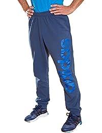 Adidas Basic Essential + Essential Lin Hose Ch Ricblu, Größe Adidas:L