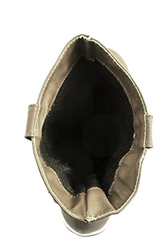 Elara - Stivali Donna Verde (Kaki)