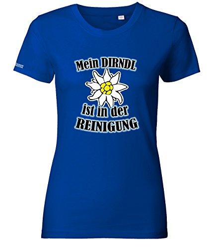 MEIN DIRNDL IST IN DER REINIGUNG - OKTOBERFEST - WOMEN T-SHIRT by Jayess Gr. XS bis XXL Royalblau