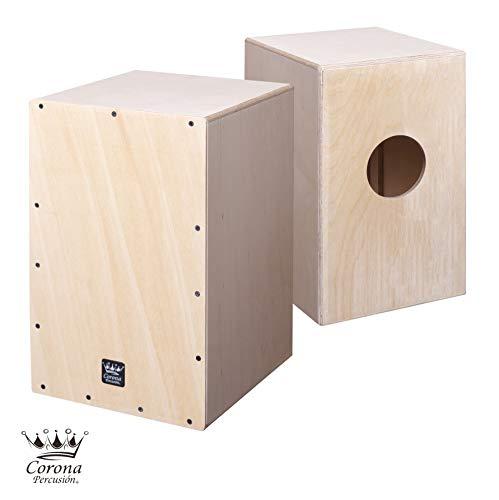 Cajon flamenco - nuevo cajón de percusión acabado abedul natural sin barnizar, para darle su toque mas personal