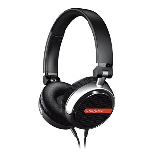 Creative Flex Ultra-light On-ear Headphones (Black)