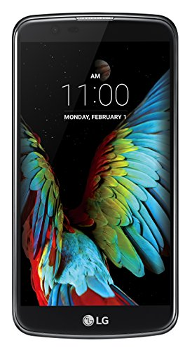 LG K10 - Smartphone (5.3', cámara 13 MP, 16 GB, Qualcomm Snapdragon 1.2 GHz, 1.5 GB de RAM, 4G), Negro