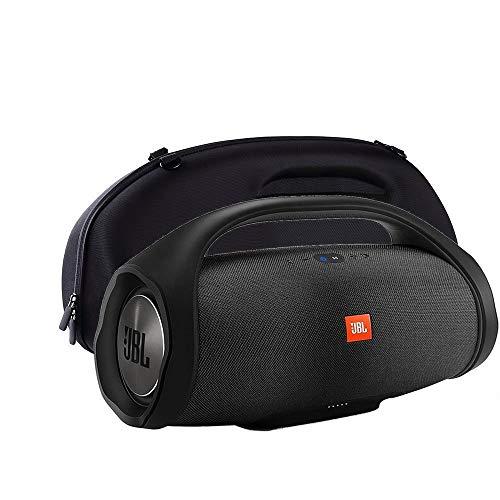 Preisvergleich Produktbild HAMISS Hard Protective Case Custom Speaker Protective Case Bag for JBL Boombox Wireless Bluetooth Speaker - Black