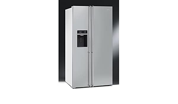 Side By Side Kühlschrank Integrierbar : Smeg u kühlschrank side by side fa bi finish türen edelstahl