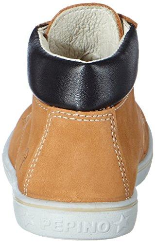 Ricosta Yani, Sneakers Hautes garçon Marron (reh 265)