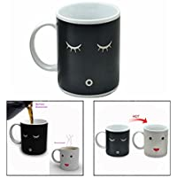Gearmax® Magic Morning taza té café agua caliente Color cambiando taza de la porcelana