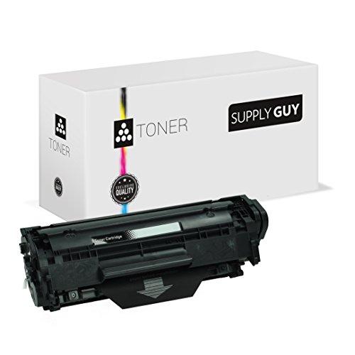Toner kompatibel zu HP 12A Q2612A Schwarz passend für Laserjet 1010 1012 1015 1018 1020 1022 3015 3020 3030 3050 3052 3055 M-1005 M-1319 Canon Lasershot LBP-2900 LBP-3000