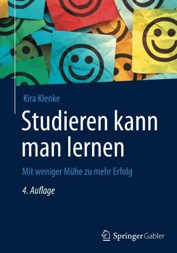 Buchseite und Rezensionen zu 'Studieren kann man lernen: Mit weniger Mühe zu mehr Erfolg' von Kira Klenke
