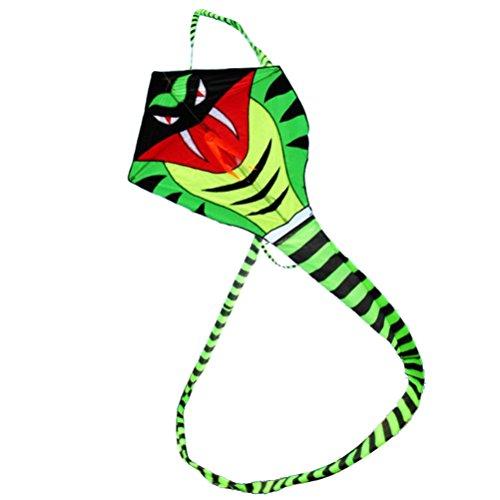 YeahiBaby 15m Schlangen Drachen Kinder Drachenflieger Flugspielzeug für Outdoor-Spiele Aktivitäten Spielzeug