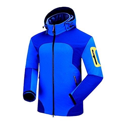 Uglyfrog Bike Wear Softshelljacken Herren Radsport Fleece Camping & Outdoor Bekleidung Full Zip...