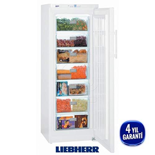 Liebherr GP 2733 Comfort Tiefkühlschrank, freistehend, 226l, A++, weiß - Gefrierschrank (Anschlag rechts, 226 l, 22 kg/24 h, SN-T, A++, weiß)
