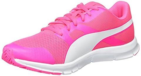 Puma Unisex-Erwachsene Flexracer Sneakers, Pink (Knockout Pink-Puma White 24), 41 EU