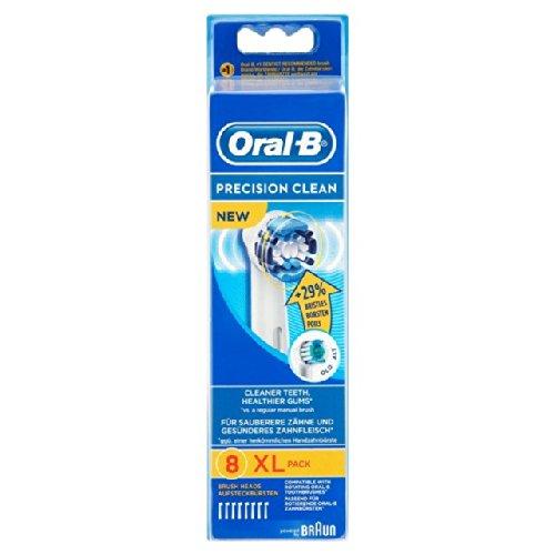 Preisvergleich Produktbild Oral-B Aufsteckbürsten Precision Clean 8 pro Packung