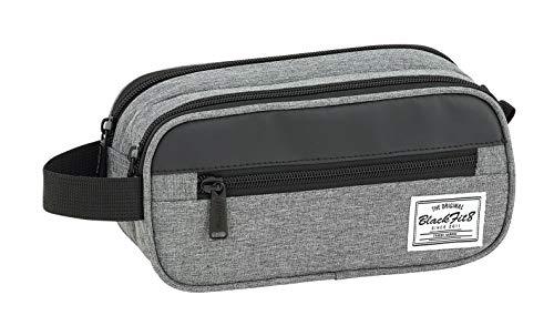 Safta Bolsa Portátil Blackfit8 Black & Grey Oficial 210x100x80mm
