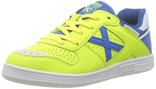 Munich Continental Kid V2 00, Zapatillas de Deporte para Niños, Verde/Azul 000, 34 EU