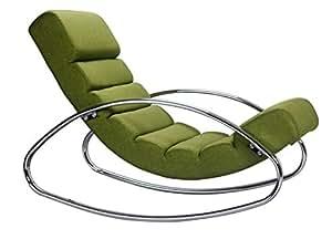 Fauteuil Relax Swithome Loop Chromé/Vert