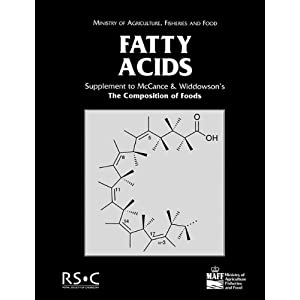 Fatty Acids: Seventh Supplement to the Fifth Edition of McCance and Widdowson's the Composition of Foods