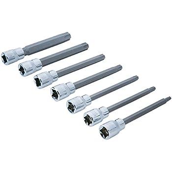 """T Star 7023-T45 Werkzeug 3//8/"""" Drive x 110 mm T45 Torx Impact Bit"""