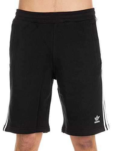 adidas Herren Shorts 3-Stripes, Black, L, CW2980
