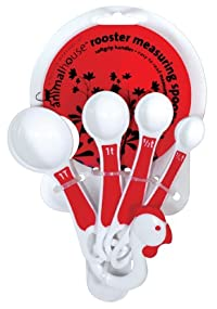 Boston Warehouse Rooster Measuring Spoons, Set of 4