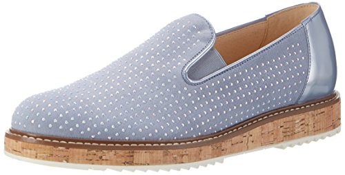 Gabor Shoes Damen Fashion Slipper, Grau (Aquamarin/Sky 18), 40 EU