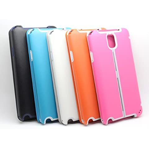 Tres En Uno Leather Case pata de cabra para Samsung Galaxy Note 3.