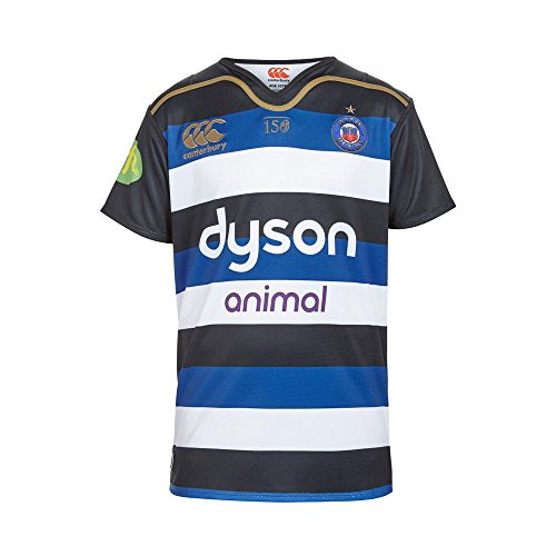 Bath 2015/16 Home S/S Pro Rugby Shirt - size 3XL - Bath Home Rugby