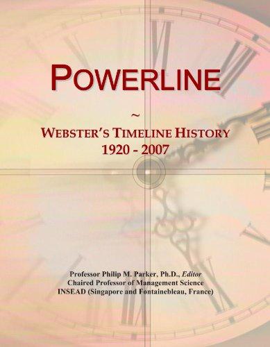 Preisvergleich Produktbild Powerline: Webster's Timeline History, 1920 - 2007