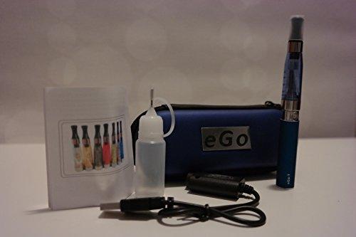 NEU eGo -CE4 Plus® Clearomizer Version 3 / V3 - Starter Set (blau) (Ego-t Starter)