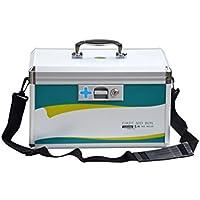 Likeluk 9 Zoll Erste Hilfe Koffer Medikamentenbox Medizin-Box mit Tragegriff, 24 * 17 * 23cm preisvergleich bei billige-tabletten.eu