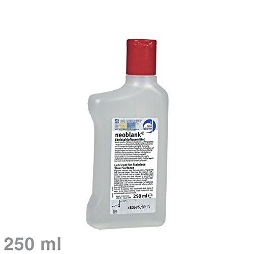 Liebherr 8409030 neoblank ORIGINAL 250ml Reiniger Pflege Edelstahl Edelstahloberfläche Edelstahlreiniger 2in1 + Schmiermittel Scharniere Schmieren Kühlschrank