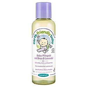 Lansinoh 82213 Baby-Pflegeöl mit Shea & Lavendel, Natur- und Biokosmetik, 125 ml