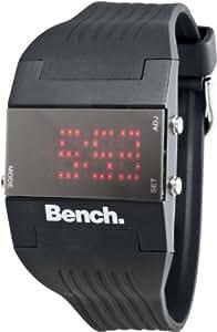 Bench Ladies LED Black Strap Watch BC0356BK