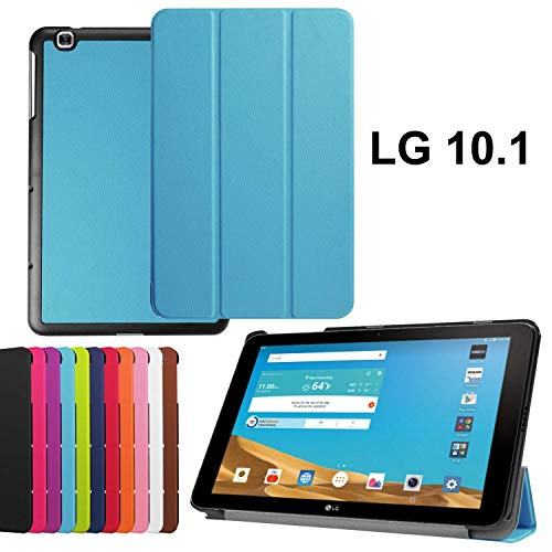 asng LG G Pad X 10.1Case-Ultra Slim Leicht Standing Cover für LG G Pad 225,7cm (V940)/LG G Pad X 25,7cm (4G LTE at und T V930) Android 2015Tablet Himmelblau