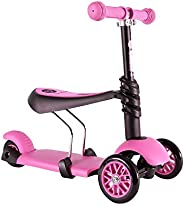 Yvolution 100073 Ride on Toy and Scooter for Kids, Pink