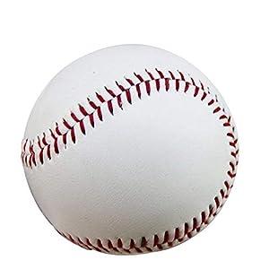 Ogquaton 1 Stücke Standardgröße PU Leder Baseball Nahtmaterial T-Ball...
