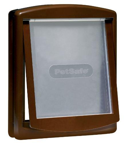 Staywell Katzentür 775 braun / transparent 45,6 x 38,6 cm